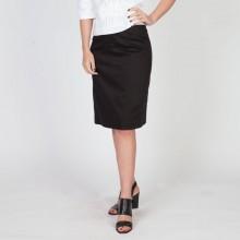 חצאית עפרון שחורה